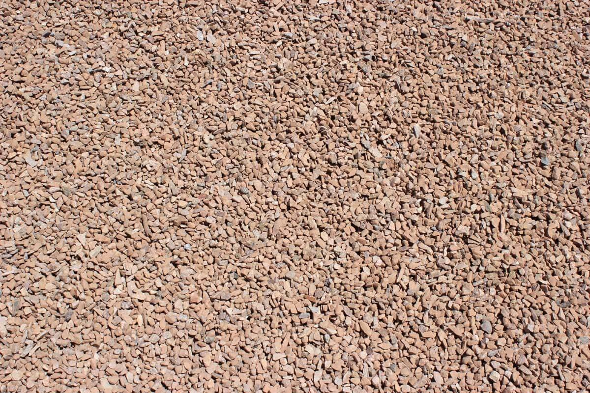 "Apache Brown 3/8"" Decorative Crushed Rock"