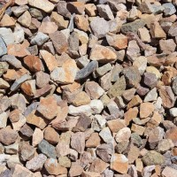 "Apache Brown 7/8"" Decorative Crushed Rock"