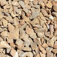 "Bark Brown 3/4"" Decorative Crushed Rock"