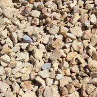 "Barstow Gold 3/4"" Decorative Crushed Rock"