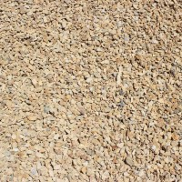 "Barstow Gold 3/8"" Decorative Crushed Rock"
