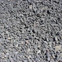 "Black Cinders 3/4"" Decorative Crushed Rock"