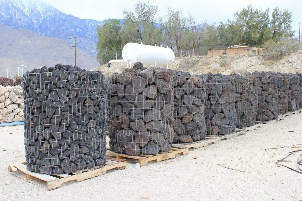 Black Lava Rubble