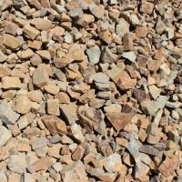 "Brown Cresta 3"" minus Decorative Crushed Rock"