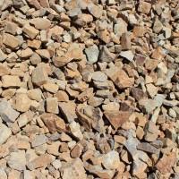 "Brown Cresta 3"" minus Decorative Crushed Rock"