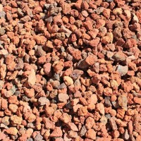 "Clear Lake Cinders 3/4"" Decorative Crushed Rock"