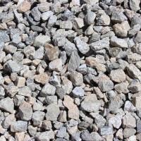 "Gray Gravel 3/4"" Decorative Crushed Rock"
