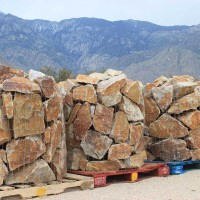 Honey Quartz Palletized Rubble