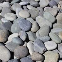 Mexican Black LaPaz Cobbles River Rock