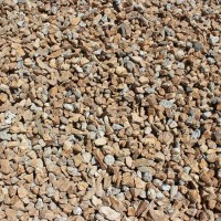 "Mojave Gold 3/4"" Decorative Crushed Rock"