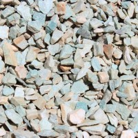 "Oro Verde 3/4"" Decorative Crushed Rock"