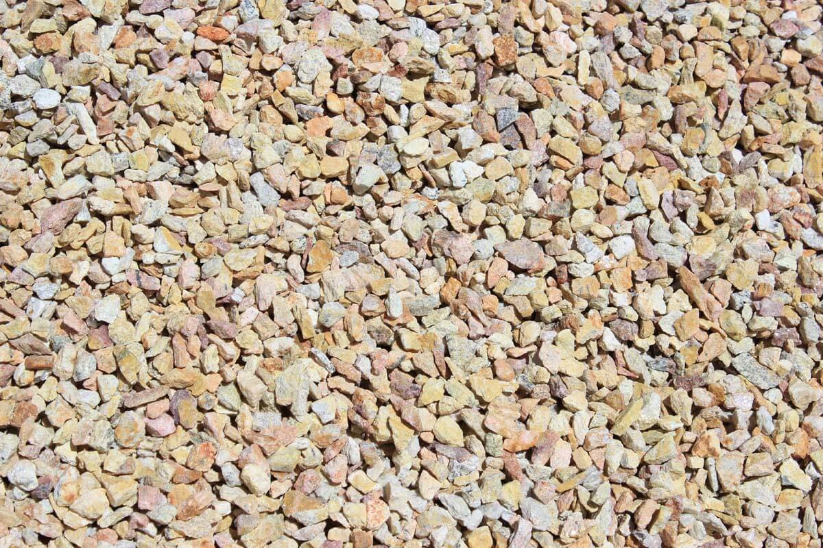 "Palm Springs Gold 3/8"" Decorative Crushed Rock"