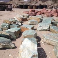 Utah Green Boulders
