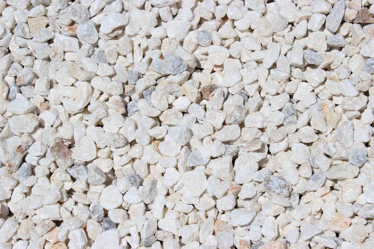 White Crushed Stone : White rock whitewater supply co