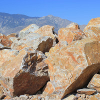 Honey Quartz Boulders