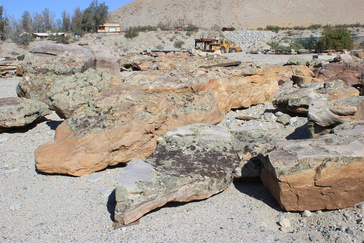 Wyoming Moss Boulders